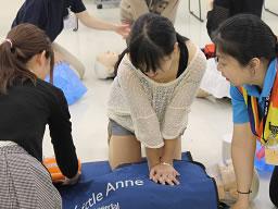 AEDの使い方 上級救命講習
