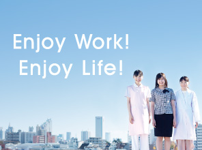 Enjoy Work!Enjoy Life!